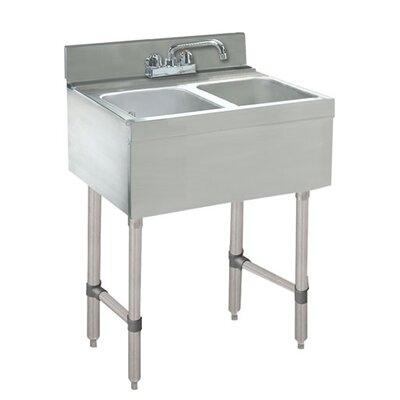 24 x 21 Free Standing Service Utility Sink with Faucet