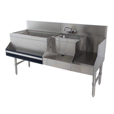 Prestige Series Free Standing Uniserv Speed Bar Size: 36 H x 60 L x 25 W