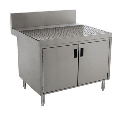 Prestige Series Free Standing Drainboard Cabinet Size: 36 H x 48 L x 30 W