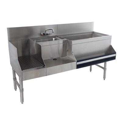 Prestige Series Free Standing Service Utility Sink Size: 36 H x 48 L x 25 W