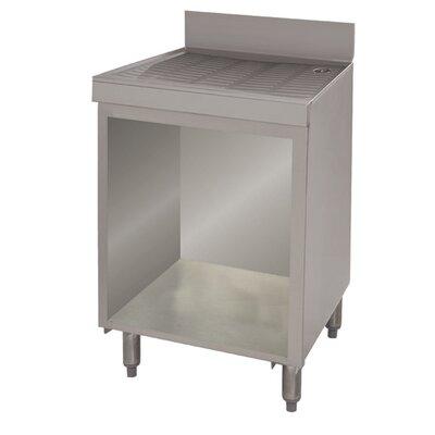Open Base Drainboard Cabinet Size: 33 H x 24 L x 21 W