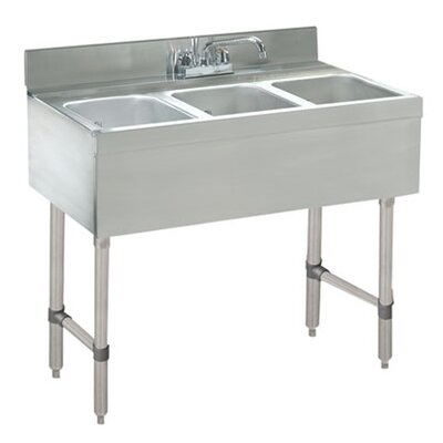 36 x 21 Free Standing Service Utility Sink with Faucet