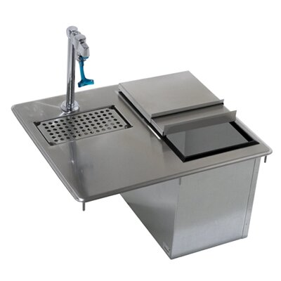 21 x 18 Drop-In Handwash Utility Sink with Faucet