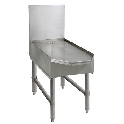 Free Standing Frozen Drink Machine Stand Size: 33 H x 18 L x 23.15 W