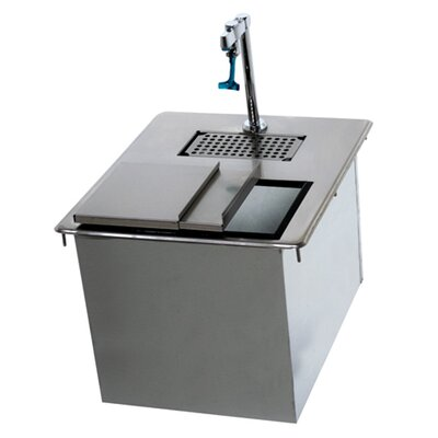18 x 21 Drop-In Handwash Utility Sink with Faucet