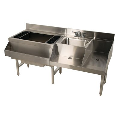 Uniserv Speed Bar 60 x 26 Free Standing Service Utility Sink with Faucet