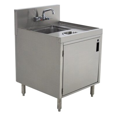 Prestige Series 18 x 25 Undermount Handwash Utility Sink with Faucet