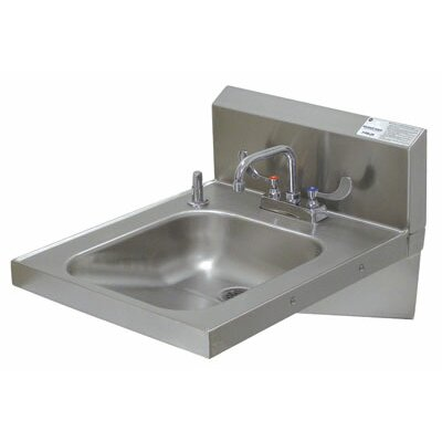 20 x 24 Single Wall Mounted Hand Sink with Faucet