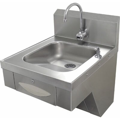 20 x 24 Single Hands Free Hand Sink with Faucet