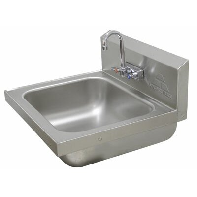 19 x 19.25 Single Hand Sink with Faucet