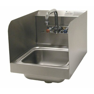 12 x 16 Single Hand Sink with Faucet