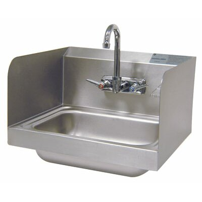 17.25 x 15.25 Single Hand Sink with Faucet