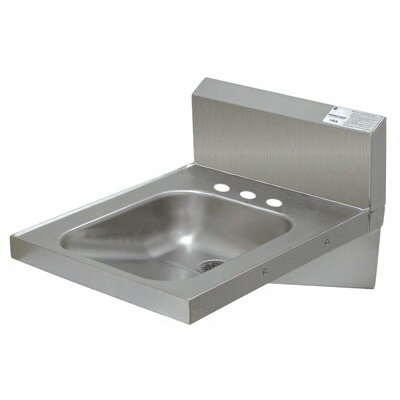20 x 24 Single Wall Mounted ADA Hand Wash Sink