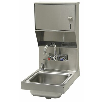 Super Saver 12 x 16 Single Hand Sink with Faucet