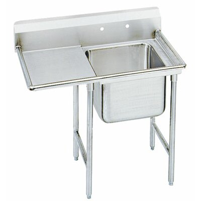 T-9 Series 43 x 27 Single 1 Compartment Scullery Sink