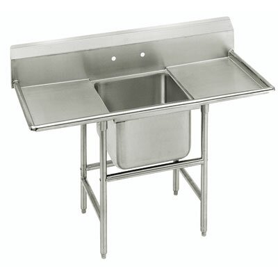 940 Series Single Seamless Bowl Scullery Sink Length: 74