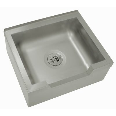 Single Floor Mounted Mop Sink Size: 12 H x 33 W x 25 D