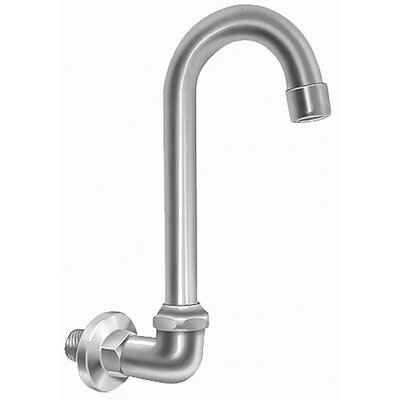 18 Splash Mount Swivel Gooseneck Faucet