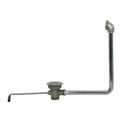 Twist Handle Waste Valve with Overflow Assembly