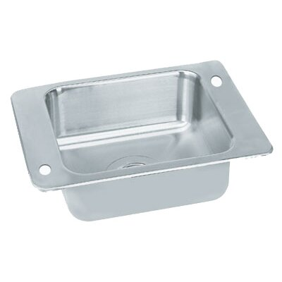 23 x 17 Single Seamless Bowl 1 Compartment Classroom Drop In Sink
