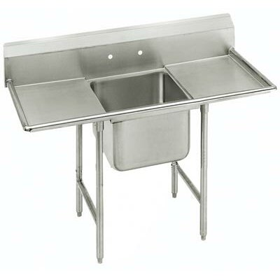 T-9 Series 54 x 27 Single 1 Compartment Scullery Sink