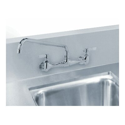 Countertop Double Bowl Welded in Top Sink Size: 10 H x 28 W x 16 D