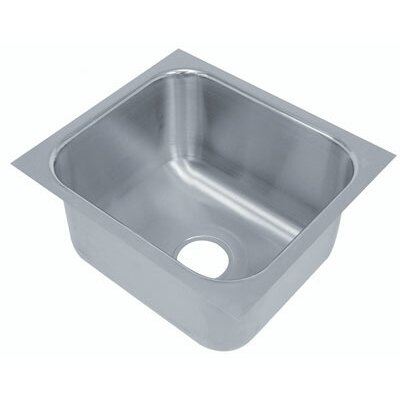 20 Gauge Under Mount Sink Bowl Size: 10 L x 14 W x 5 D