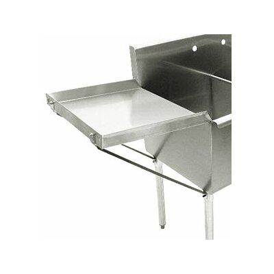 Detachable Drainboard Size: 24 x 48