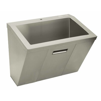 Wall Mount Scrub Sink Size: 26 H x 30 W x 23 D