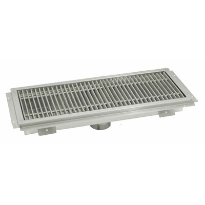 Floor Water Receptacle Grid Shower Drain Size: 7 H x 38 W x 14 D