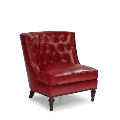 Claudia Slipper Chair Color: Crestview Red