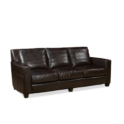 Marin Leather Sofa Upholstery: Ravenswood Cocoa