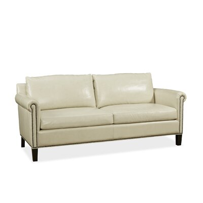 Belle Leather Loveseat