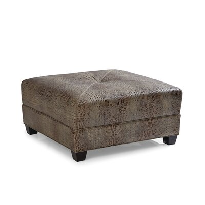 Montgomery Cocktail Leather Ottoman