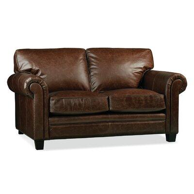 Hillsboro Leather Loveseat