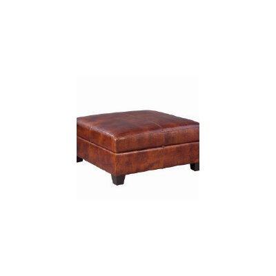 Marin Leather Ottoman