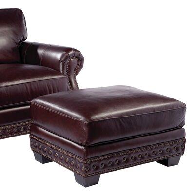 Canyon Leather Ottoman