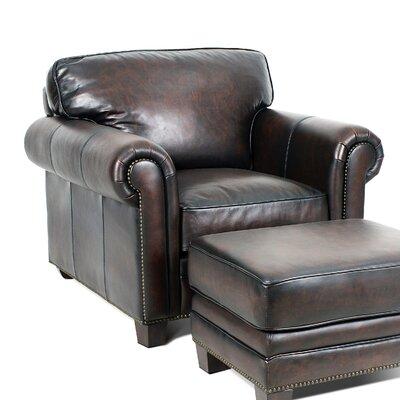 Hillsboro Club Chair Color: Stetson Coffee