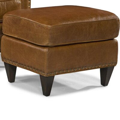 Logan LeatherOttoman Upholstery: Trends Coffee