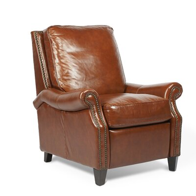 Brighton Leather Manual Recliner