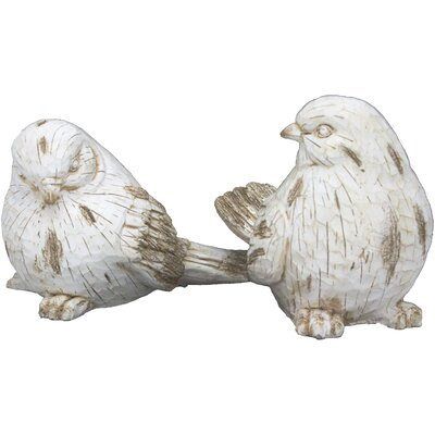 2 Piece Briella Bird Figurine Set