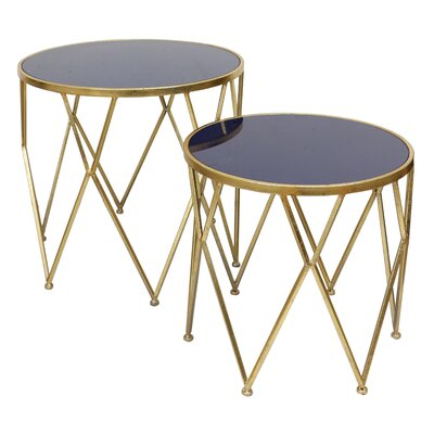 Knight 2 Piece End Table Set