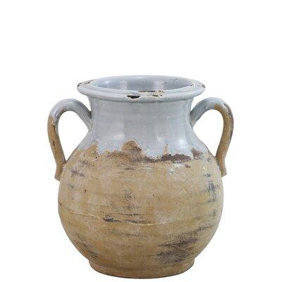 Ceramic Squat Decorative Urn