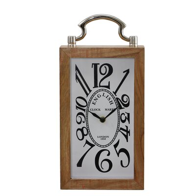 Tabletop Clock with Handle