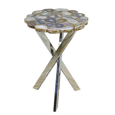 Rosley Agate Slab End Table