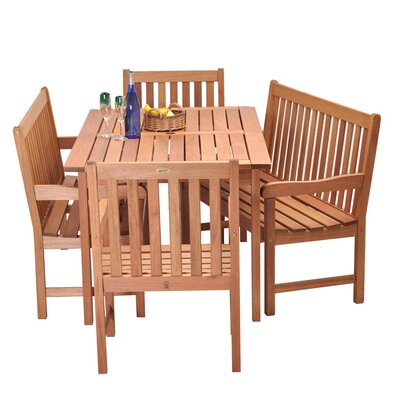 Milano 5 Piece Dining Set