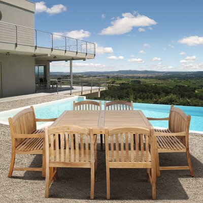 Amazonia Knoxville 9 Piece Dining Set