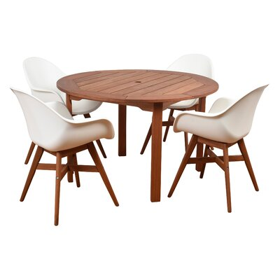 Alshain 5 Piece Dining Set