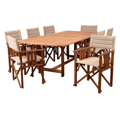 Kelleher 9 Piece Dining Set
