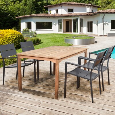 Griswold Teak 5 Piece Dining Set